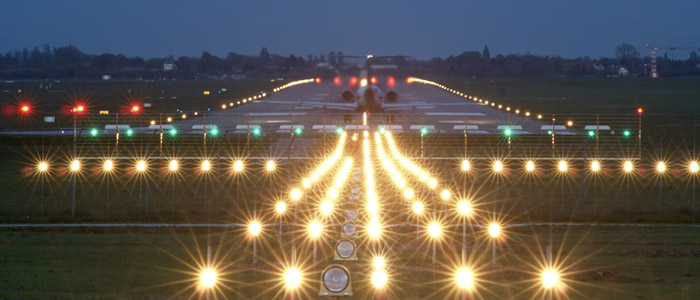 Airport technical data including runways, lighting and approaches
